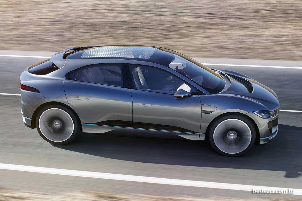 Jaguar IPace elétrico de 400 cv será produzido Carros