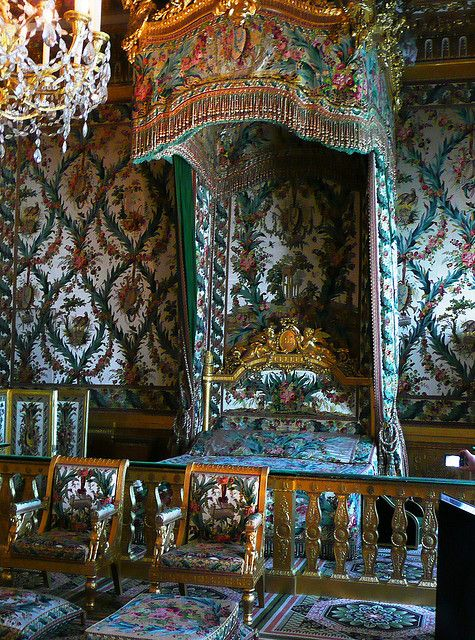 King's Chamber at Chateau de Fontainebleau