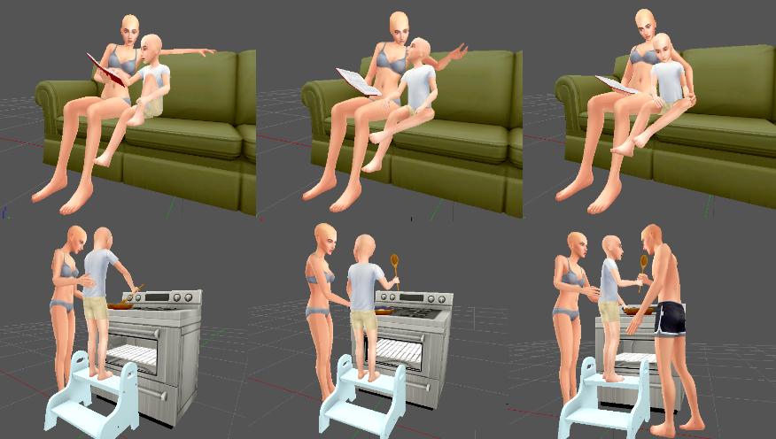 The sims love chair masturbate
