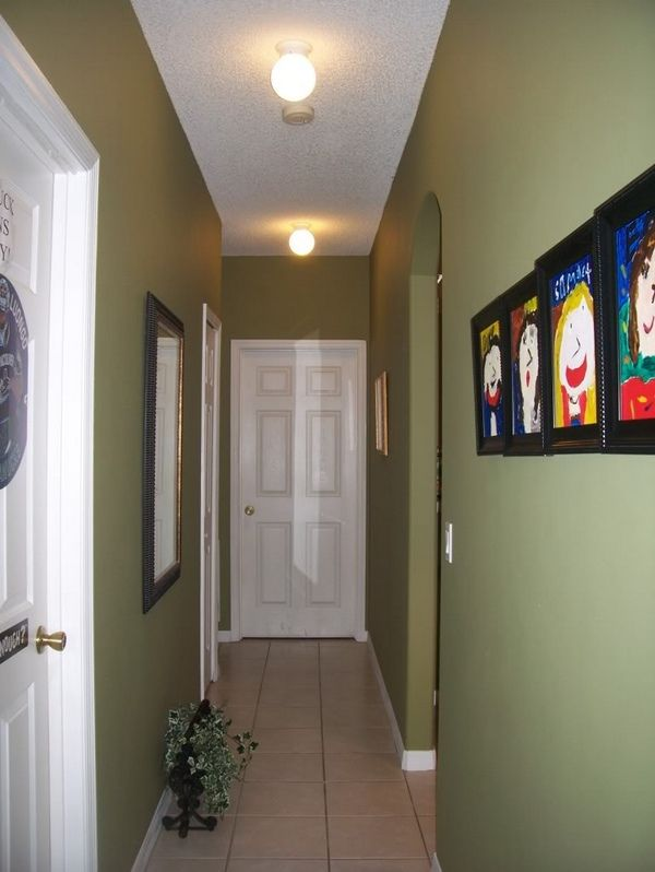 How To Paint A Hallway narrow hallway ideas | with paneled doors and it doesn't look over