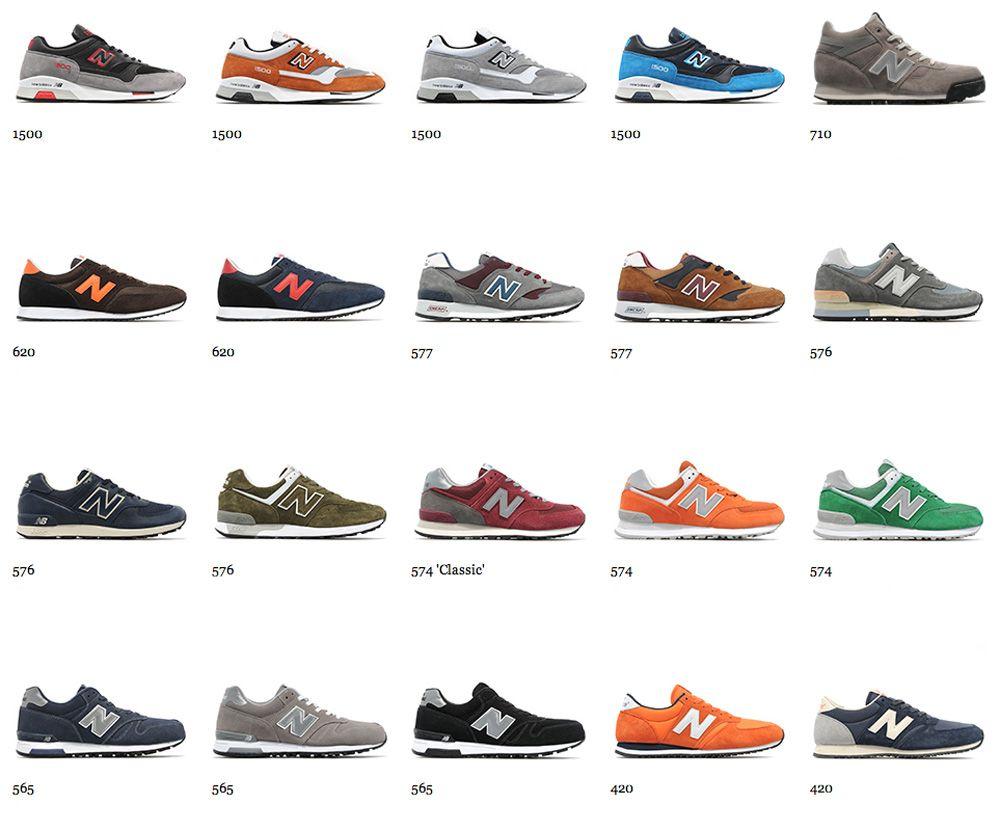 new balance shoe models