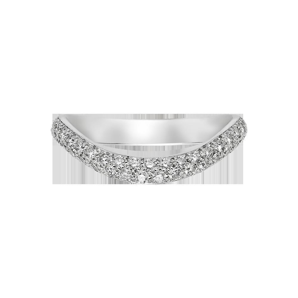 Wedding bandWEDDING BAND Platinum, diamonds REF B4099400