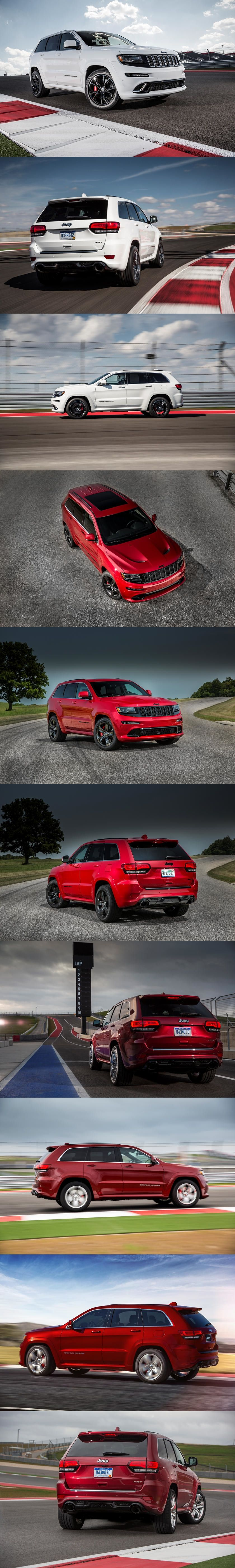 The Jeep Grand Cherokee Srt 8 Is Your Budget Family Dragster With