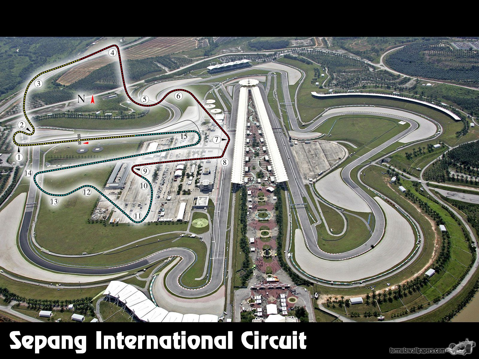 Sepang International Circuit (With images) Sepang, Circuit