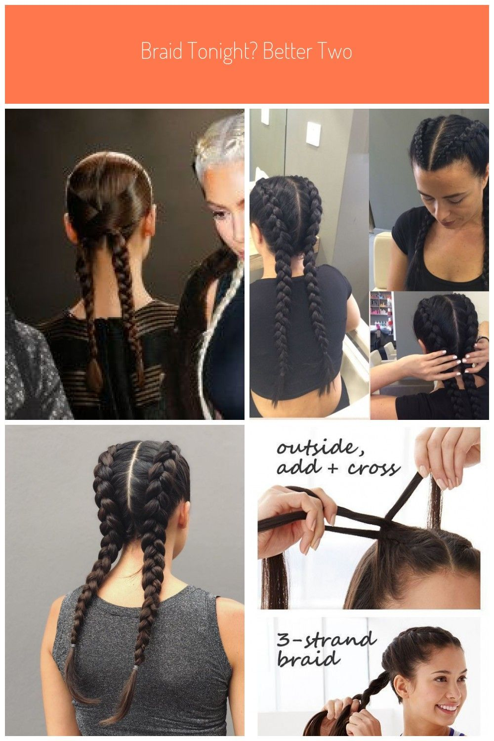 Braid tonight Better two the boxer braids are the latest hairstyle trend  Best  Braid