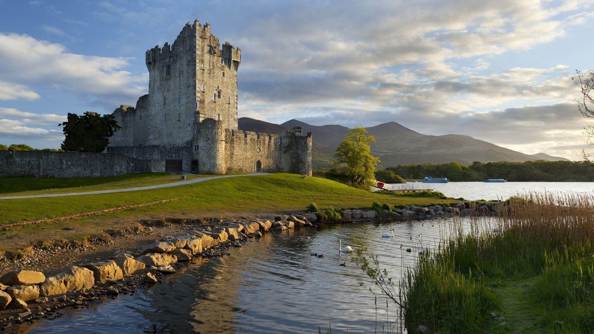 Beautiful Ireland Landscape Hd Desktop Wallpaper Widescreen Irsko