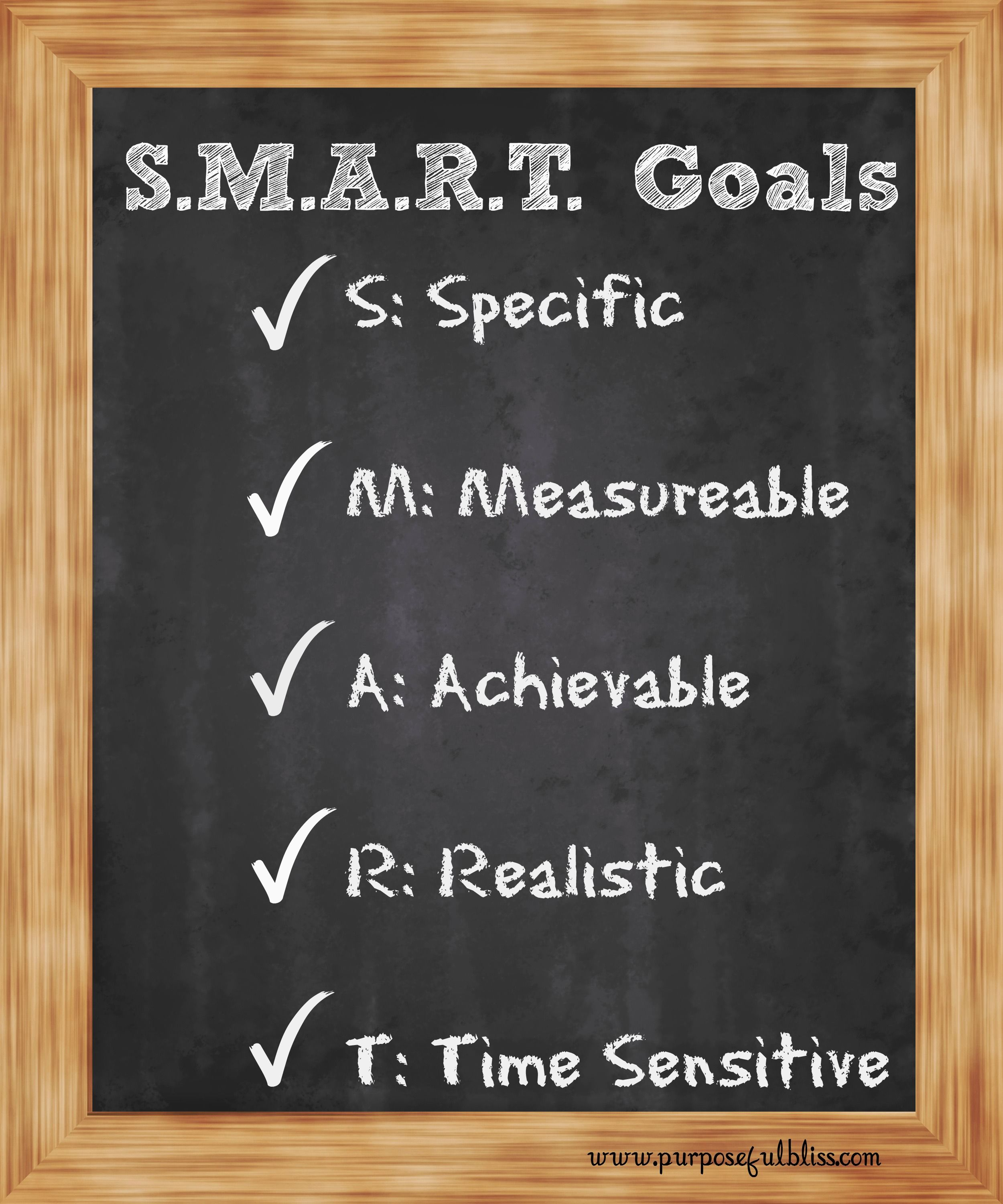 Learn More About Setting Smart Goals And Receive A Free