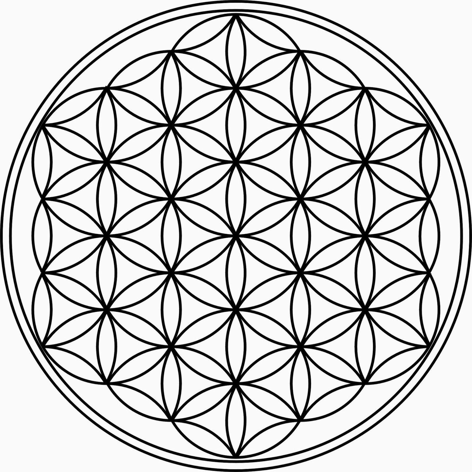 Runars World Die Blume Des Lebens Flower Of Life Tattoo Flower Of Life Circle Tattoos