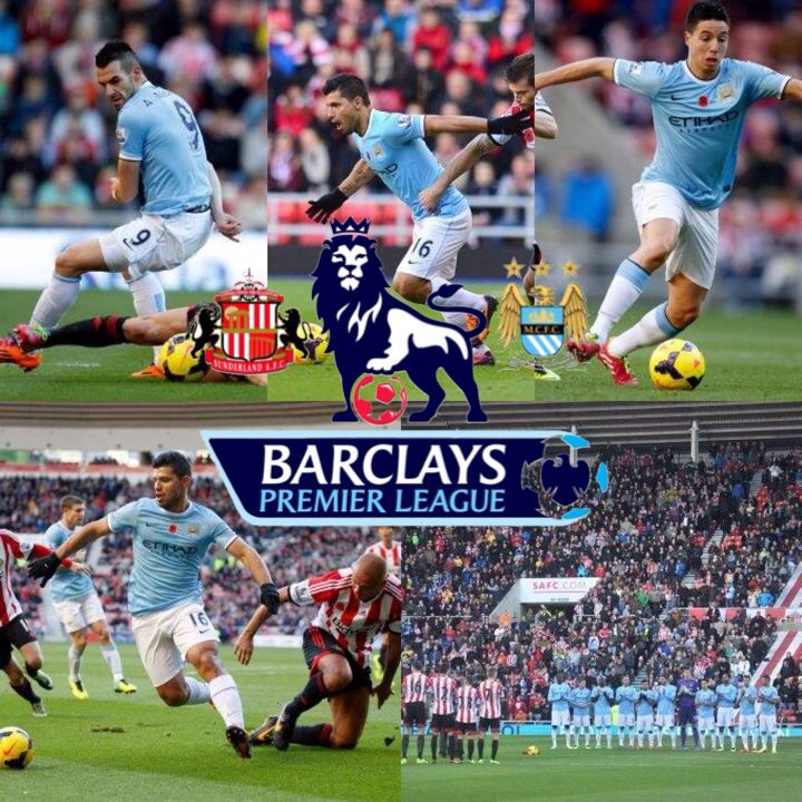 Sunderland v City match action pics mcfc manchester