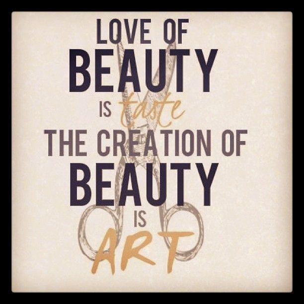 #love #beauty #loveofbeauty #taste #creation #art #word #scissors #cosmetologist #hair #hairstylist #hairdresser #hairdesigner #create #canvas #barber #haircutter #artist #design #designer #occupation