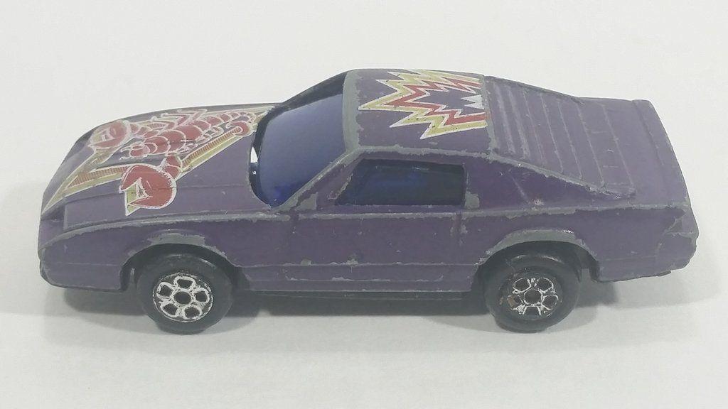 Rare Vintage Summer Marz Karz Chevrolet Camaro Scorpion Purple 8702F