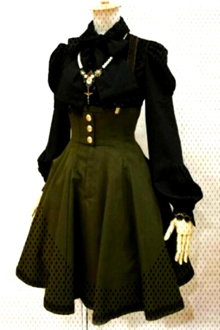 Gothic Steampunk Dress Gothic Steampunk Dress