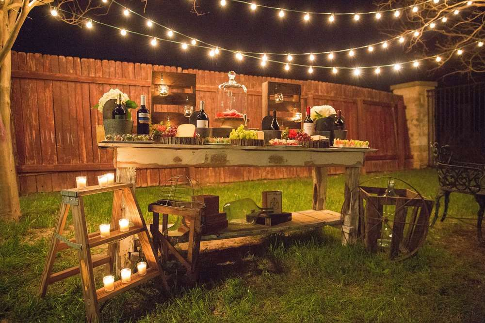 Rustic Outdoor Birthday Party Ideas | Photo 17 of 20 ...