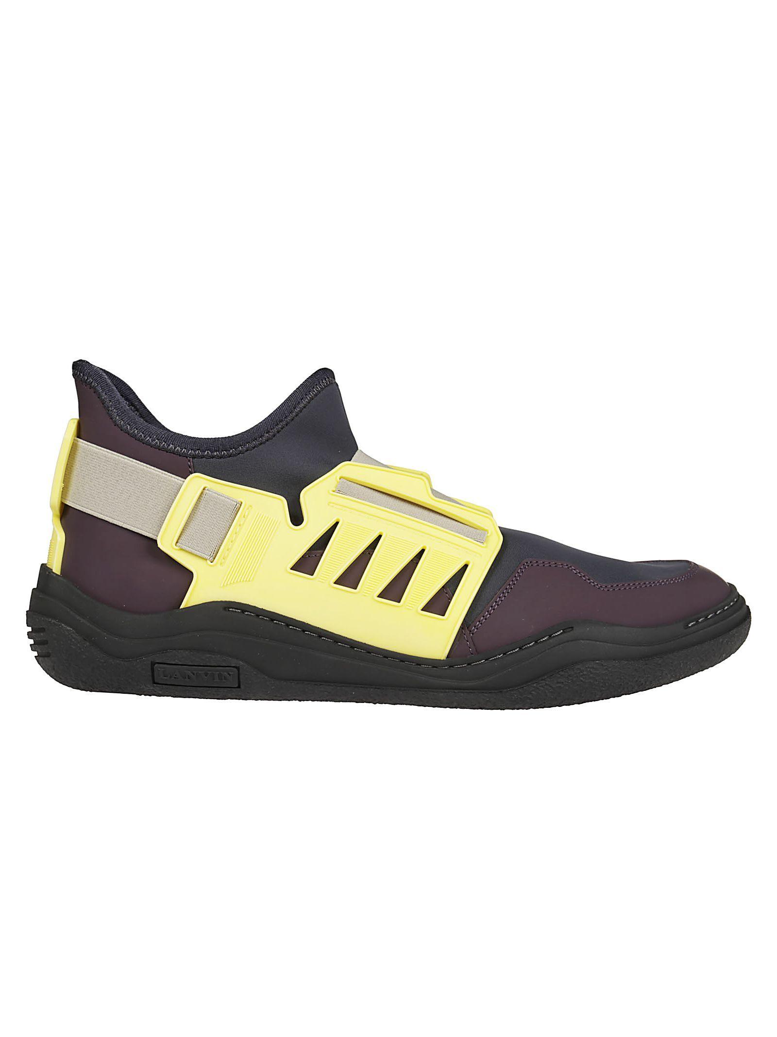 slip-on diving sneakers - Black Lanvin osoPz08Yx