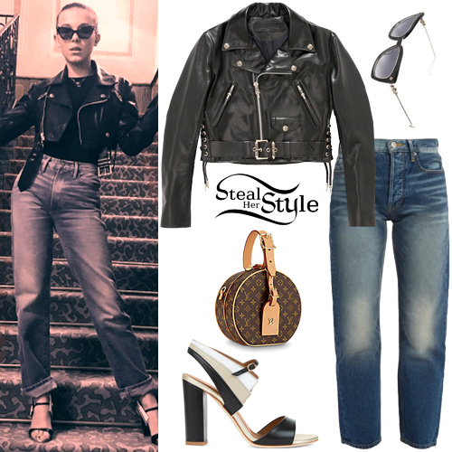 Millie Bobby Brown Clothes & Outfits   Steal Her Style