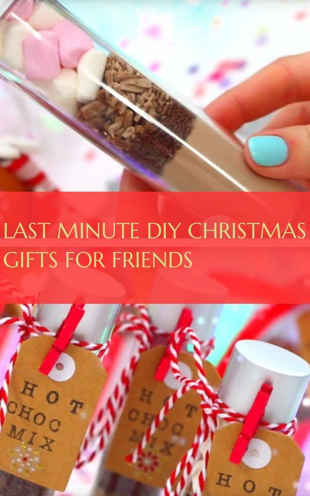 last minute diy christmas gifts for friends