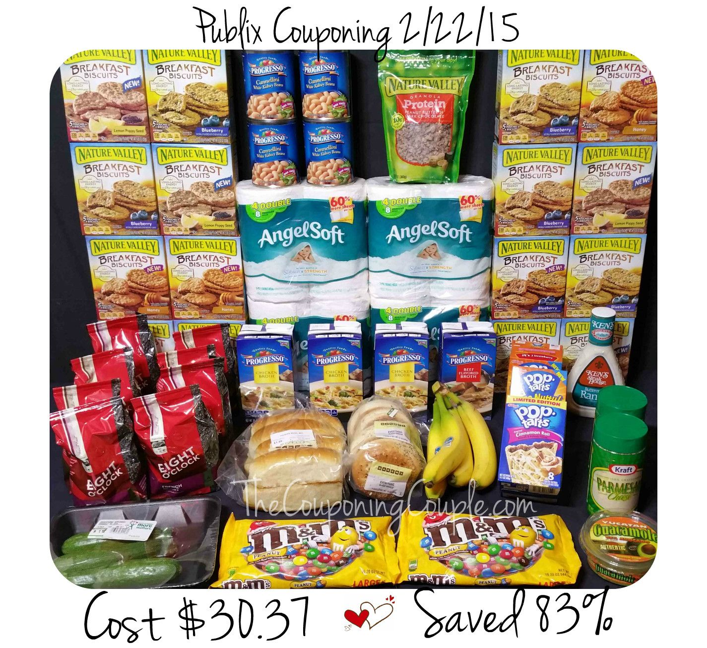 Publix Couponing Trip On 2 22 15 Saved On Coffee Granola Tp Publix Granola Snack Recipes