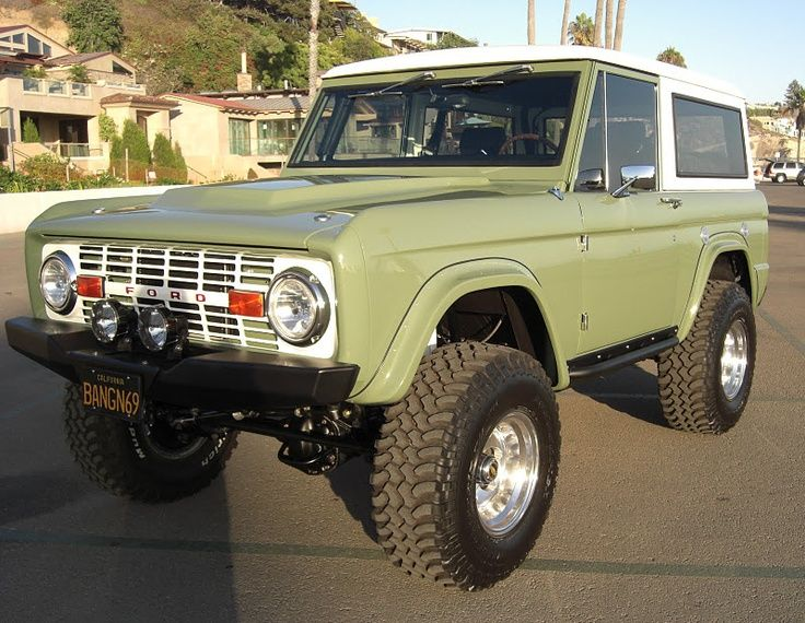 Image Result For Early Bronco Paint Jobs Dark Green