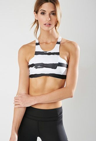 Stone Fox Sweat Bambi Sports Bra | Forever 21 - 2000161747