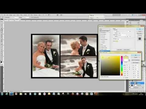 Make A Storybook Wedding Page Template Using Adobe Photoshop Photo
