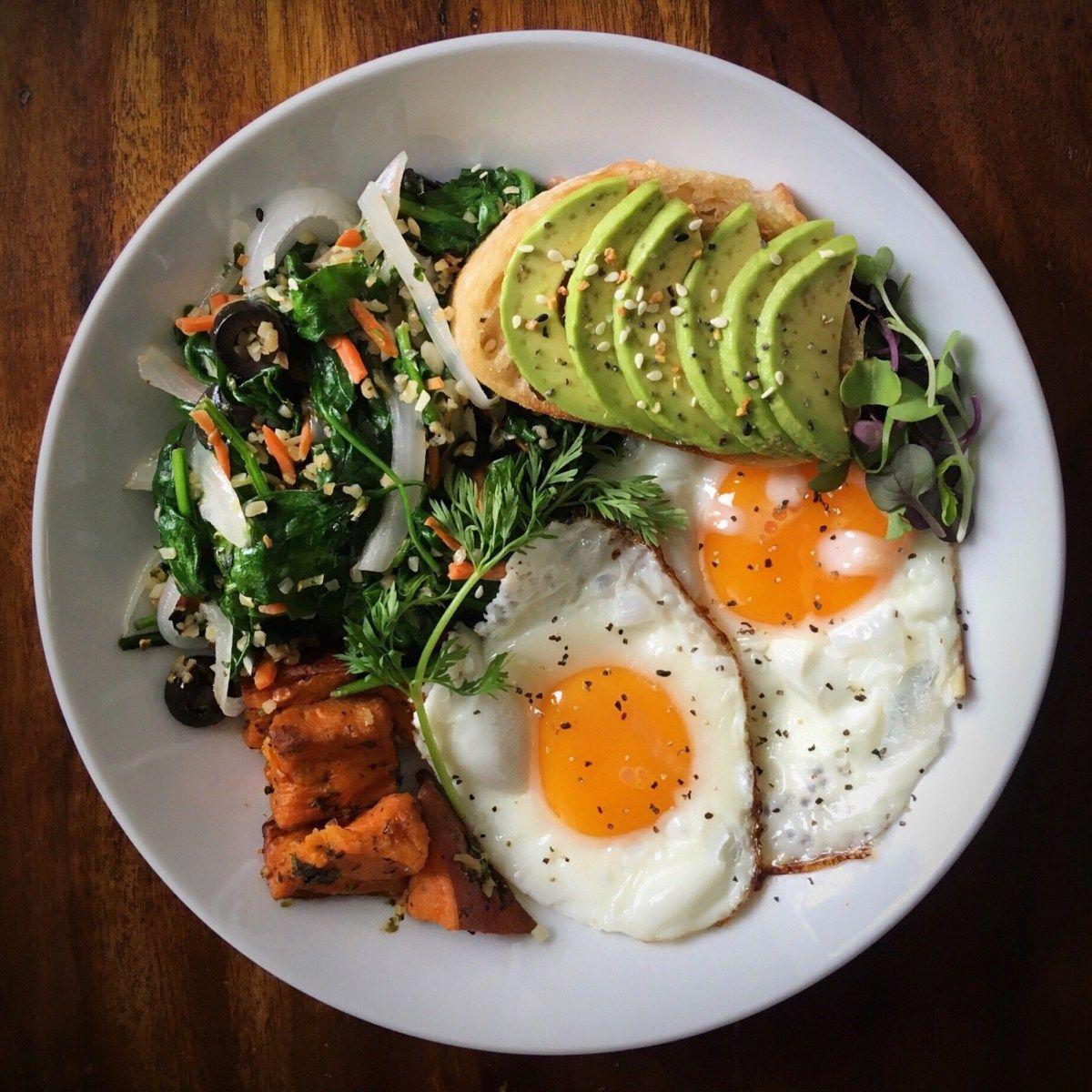 Baguette sugar free breakfast meal prep on healthy