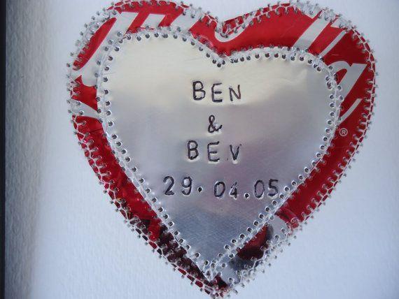 10 Jahre Hochzeitstag Geschenk Herz Hochzeit Collage