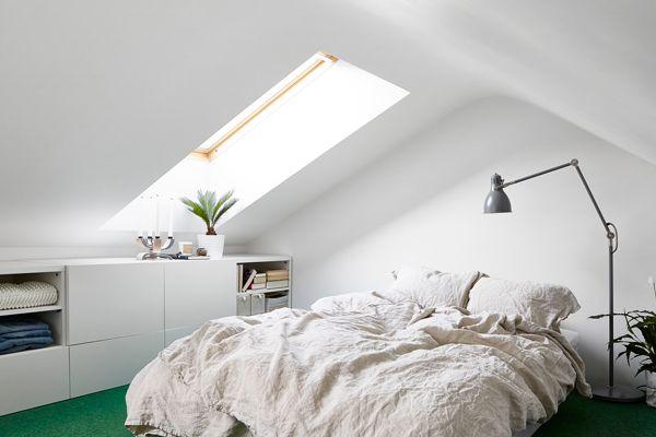 Inspiratie Slaapkamer Groen : Scandinavisch interieur appartement huis inspiratie home