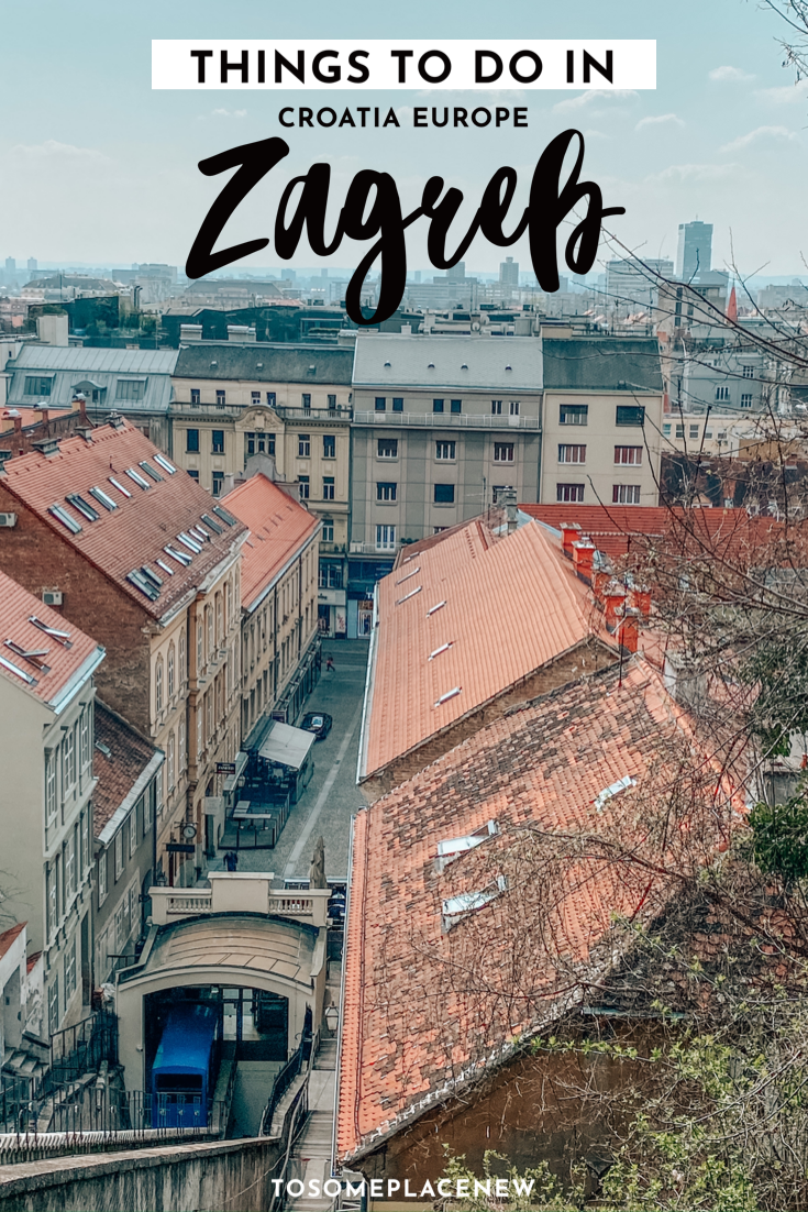 One Day In Zagreb Itinerary What To Do In Zagreb In One Day In 2020 Croatia Travel Europe Travel Europe Trip Itinerary