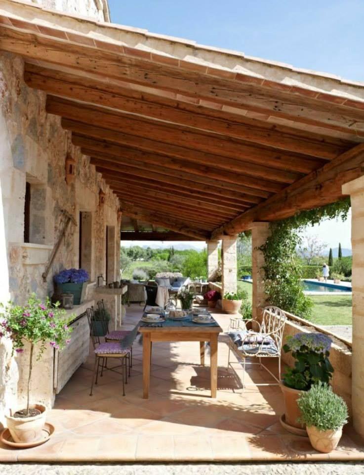Tavoli da giardino in legno fai da te cerca con google for Piani di casa cottage con portici