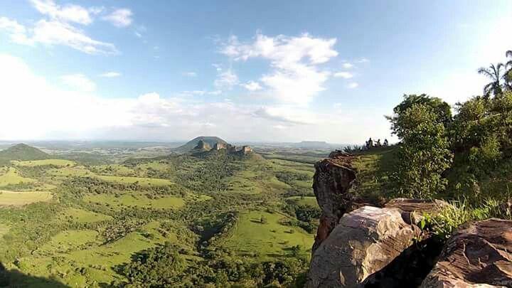 Pedra do Índio - Botucatu - São Paulo - SP - Brasil