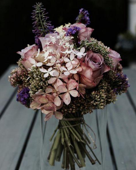 Eine kleine Brautstrauß Inspiration � #selfmade #bri...