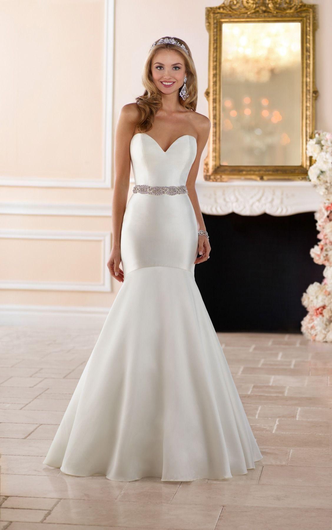 Dropped waist wedding dress  Wedding Dresses  Stella york Gowns and Wedding
