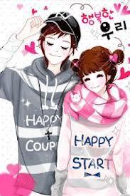 Boy Girl Cute Couple Images Love Cartoon Couple