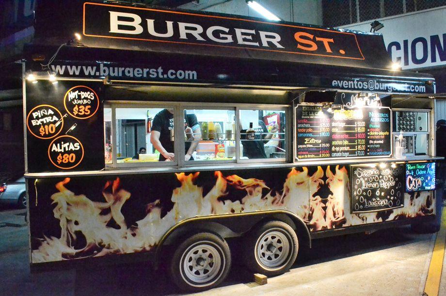 Burger St El Foodtruck De Cumbres Monterrey