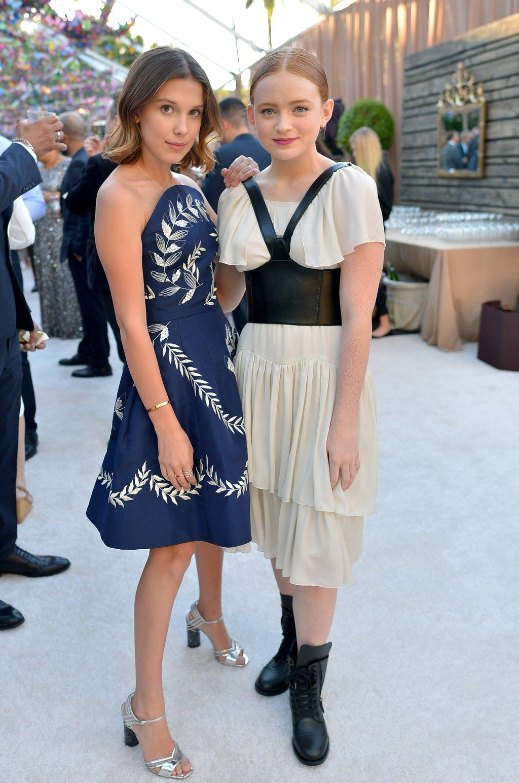 Sadie Sink Wore Combat Boots and a Dress on the Re
