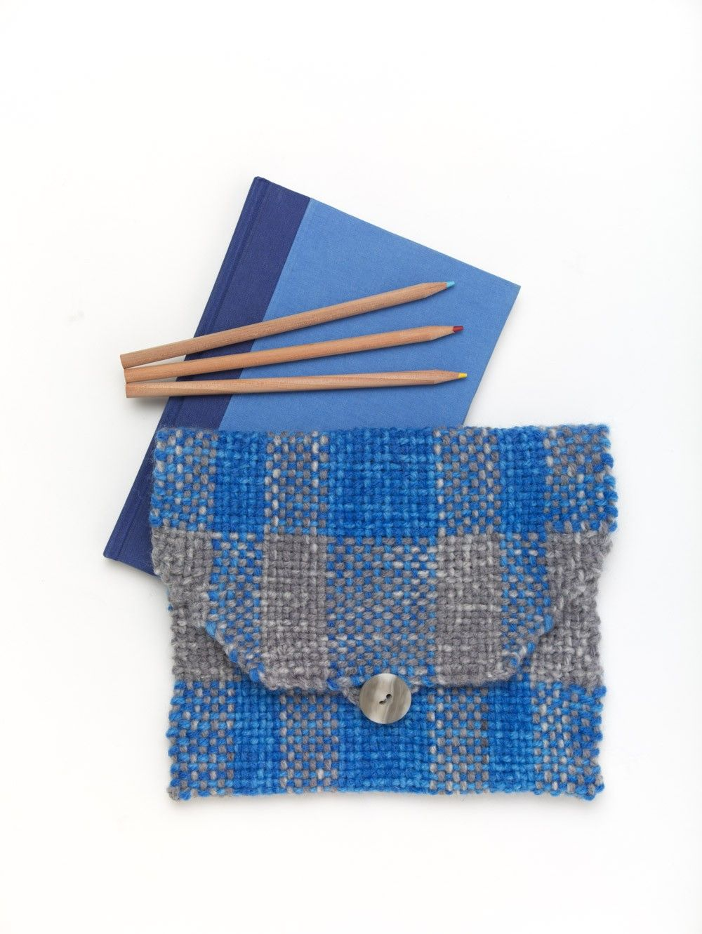 Woven Clutch Bag (Loom/Weave) | Crafty stuff | Pinterest