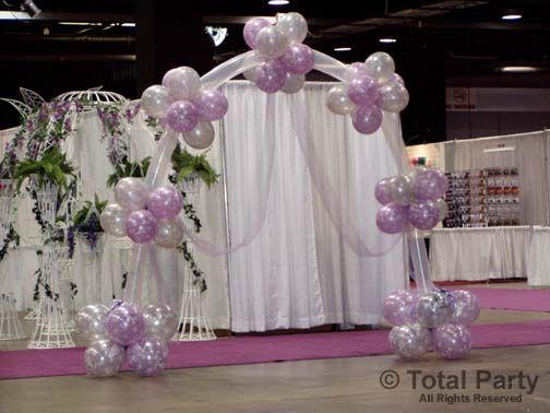 Wedding Arch 2.jpg (504×378) | Balloon Ideas | Pinterest