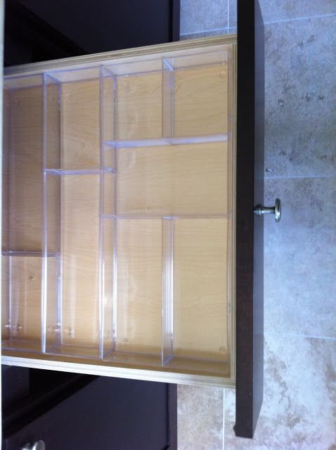Clear Acrylic Drawer Dividers Bathrooms Pinterest
