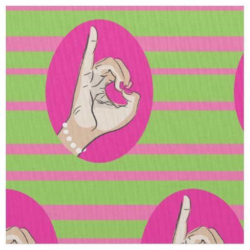 36a03f9381dd Sorority Life pink and green fabric in 2019 | Dear... Alpha Kappa ...