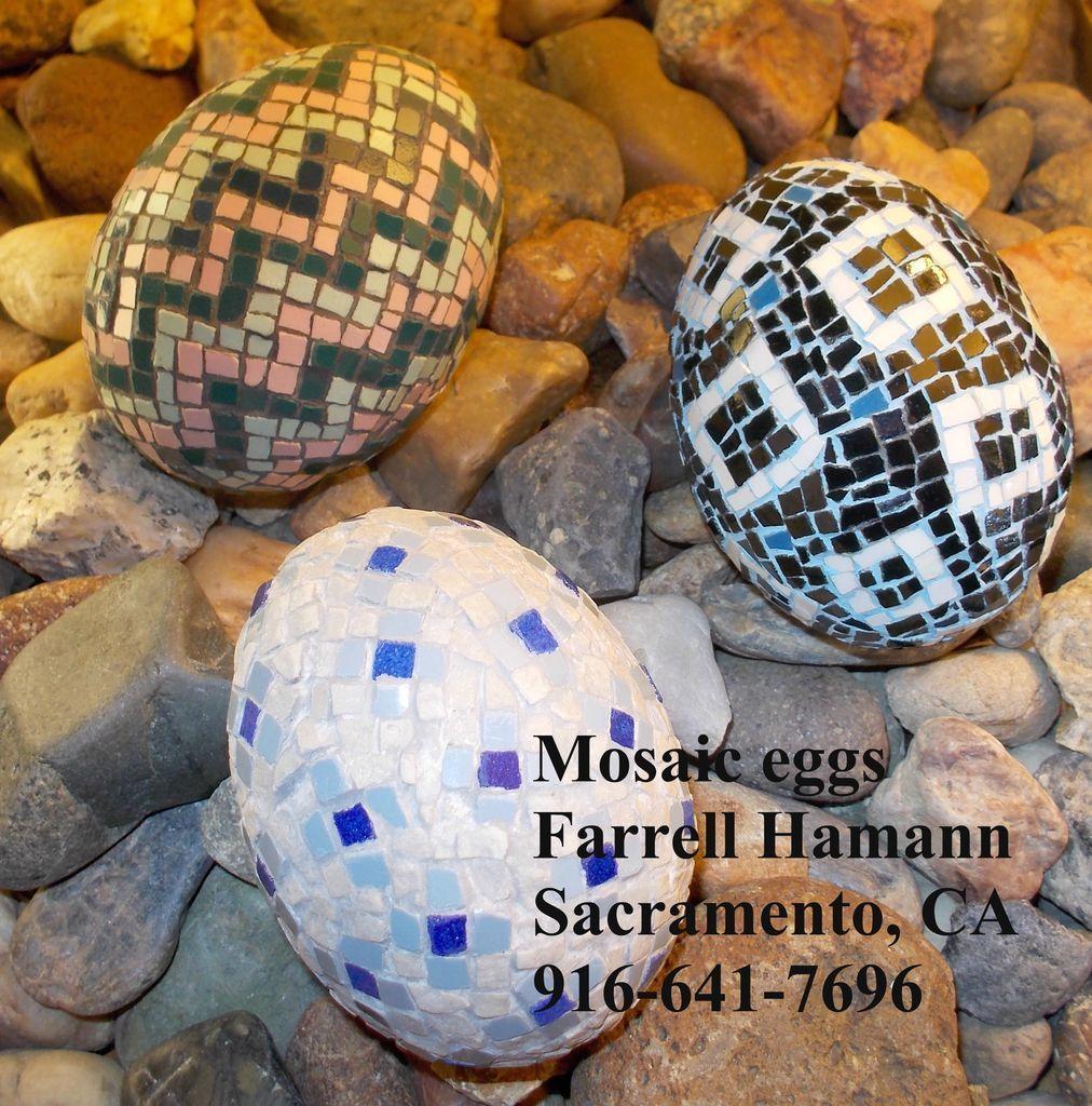 Mosaic Eggs photo MosaicEggsPebbles.jpg crowdfunding