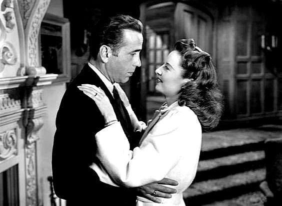 Humphrey Bogart and Barbara Stanwyck in The Two Mrs. Carrolls (1947)