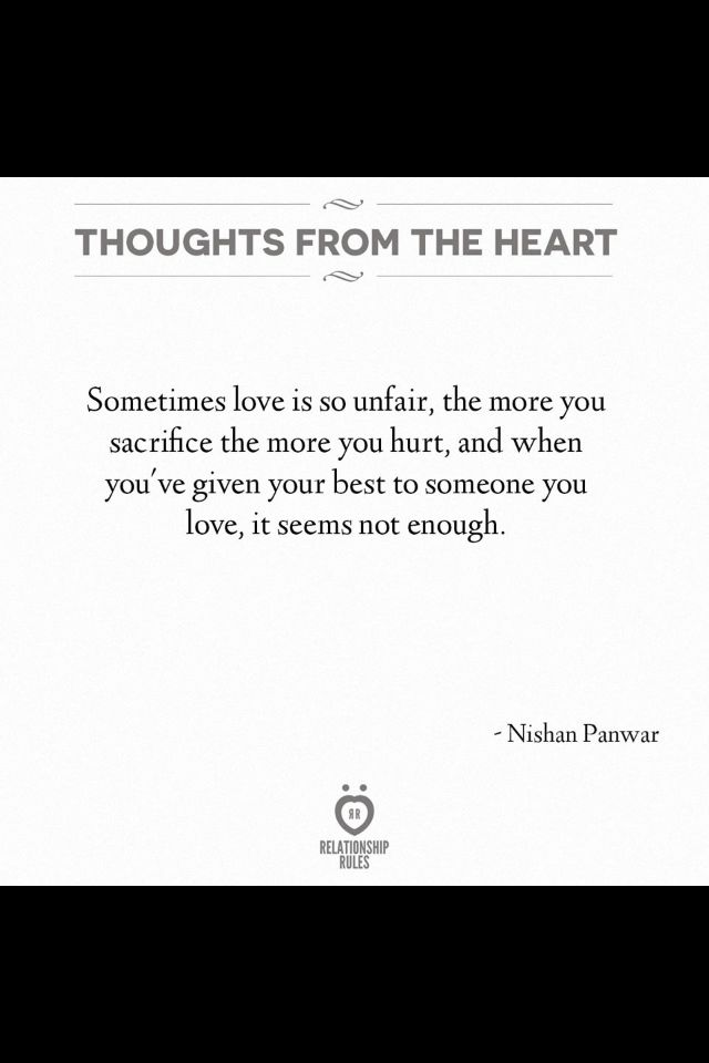 Sometimes love isn\'t enough for some people | Love is not ...