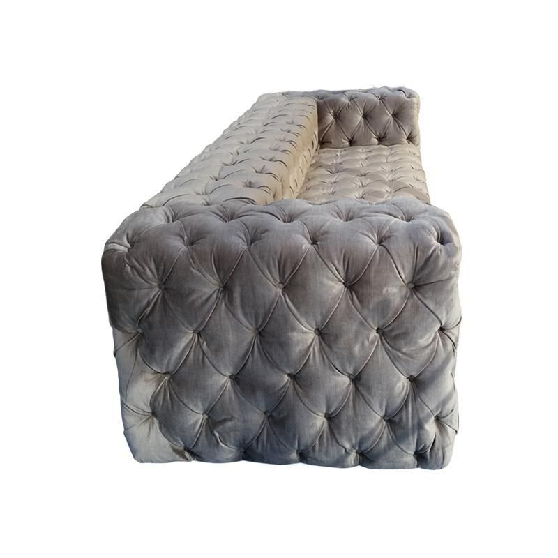 It S A Tuft World The Velvets Custom Seating Daybed Ottos
