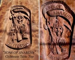 Sons Of Anarchy Table For Sale Man Cave Pinterest Sons Of