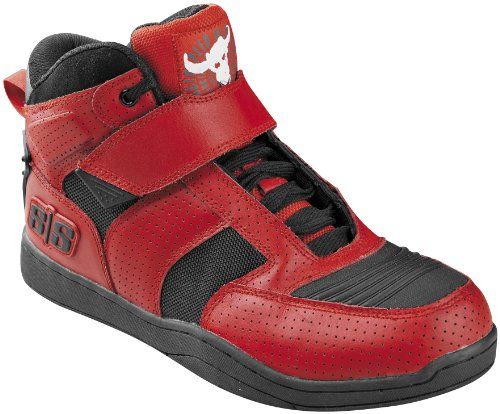41b8715a3e2d11 Speed And Strength Run With The Bulls 2.0 Men s Moto Leather Shoes (red