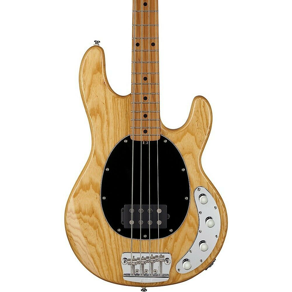 Sterling By Music Man Stingray Roasted Maple Neck Bass Natural Price 799 99 Guitars For Sale Acoustic Guitar For Sale Bass Electric Guitar For Sale