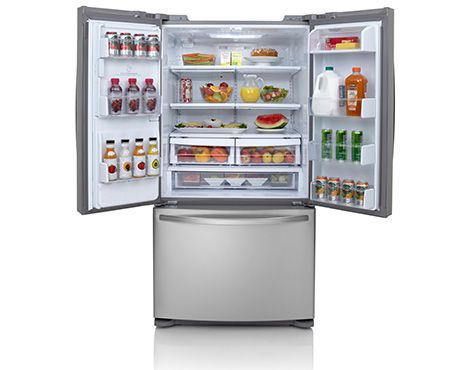 Shop Online For Lg Gf L613pl Lg 613l French Door Refrigerator And