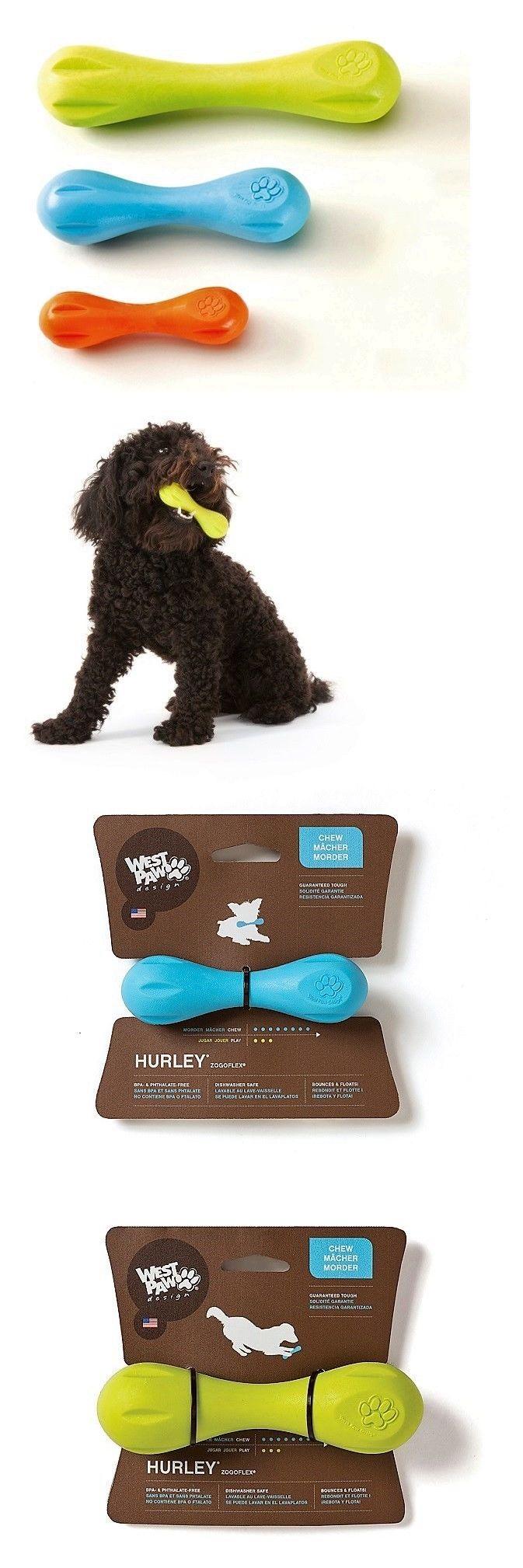 Toys 177791 New Blue Orange Or Green Zogoflex Hurley Dog Bone