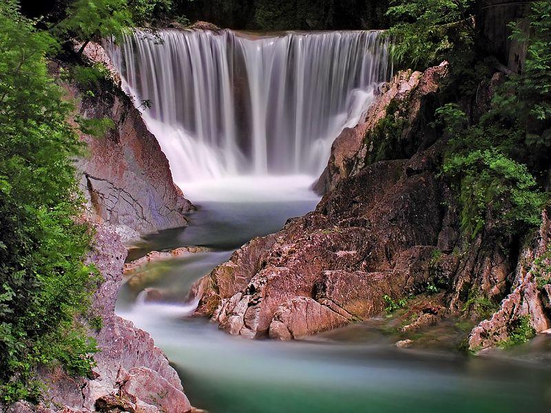 Parco Gole Breggia (Breggia Gorge Park), Ticino, Switzerland;  photo by Michele Galante, via 500px