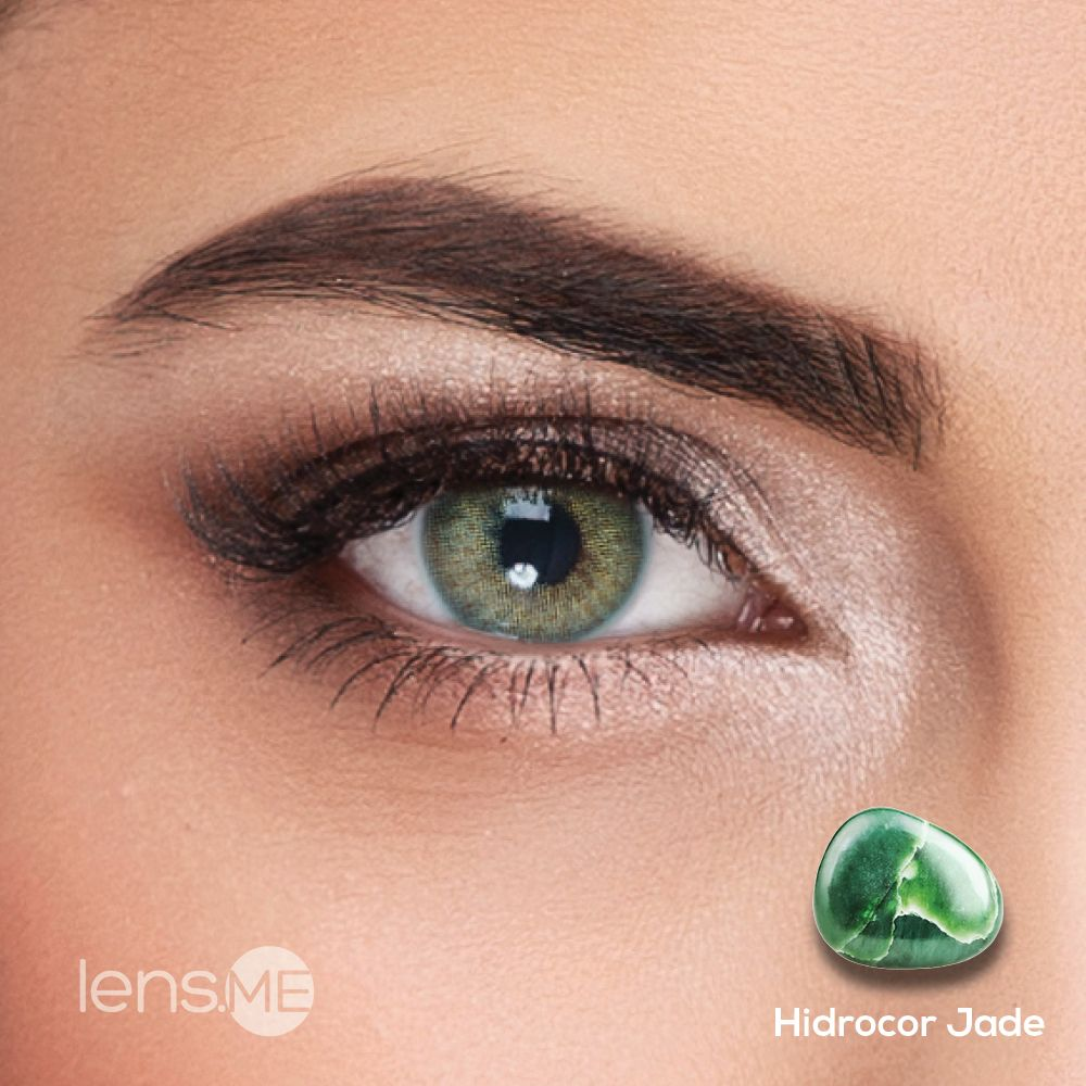 Hidrocor Jade By Single With Images Colored Contacts Green Contacts Lenses Makeup Lover